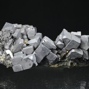 Truncated Galena, Sphalerite, Quartz, Chalcopyrite