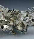 Pyrite, Quartz, Calcite, Chalcopyrite