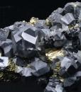 Truncated Galena, Chalcopyrite, Quartz, Sphalerite