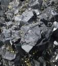 Truncated Galena, Sphalerite, Pyrite, Quartz
