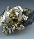 Pyrite, Chalcopyrite, Sphalerite