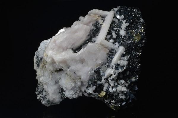 Sphalerite, Calcite, Galena, Chalcopyrite