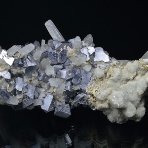 Galena, Quartz, Calcite