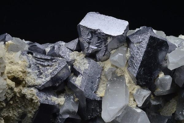 Galena, Quartz, Calcite