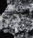 Truncated Galena, gem Sphalerite var.Cleiophane, Quartz