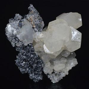 Calcite, Sphalerite, Quartz