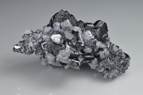 Sphalerite on Galena, Quartz