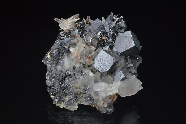 Galena, Quartz, Sphalerite