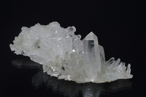 Quartz with Chalcopyrite and Sphalerite
