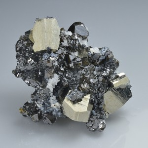 Pyrite, Cleiophane, Quartz