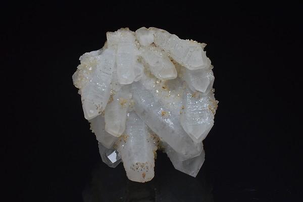 Quartz with growth phantoms, Calcite