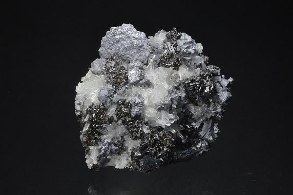 Quartz, Galena, Sphalerite