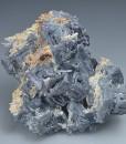 Skeletal Galena, Quartz, Calcite