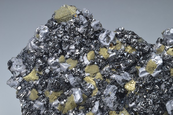 Chalcopyrite, Galena, Sphalerite