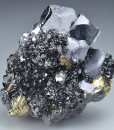 Galena, Sphalerite, Chalcopyrite, Quartz