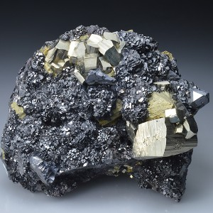 Sphalerite, Pyrite, Chalcopyrite, Galena