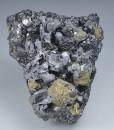Skeletal Galena, Chalcopyrite, Sphalerite