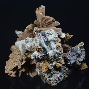 Dolomite, Galena, Calcite, Quartz