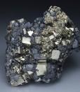 Pyrite, Sphalerite, Galena