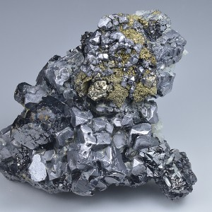 Twinned and truncated Galena, Chalcopyrite, Sphalerite