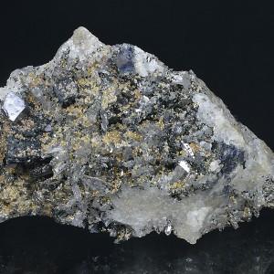 Quartz, Sphalerite, Calcite, Galena