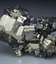 Pyrite, Galena, Sphalerite