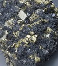 Chalcopyrite, Pyrite, Sphalerite, Galena
