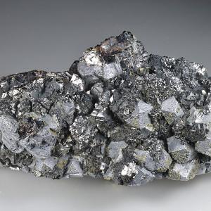 Dodecahedral Galena, Chalcopyrite, Sphalerite