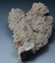 Dolomite on Hematite