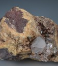 Two generations Quartz with inclusions