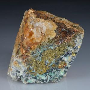 Chalcopyrite, Linarite