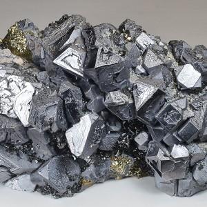 Truncated Galena, Chalcopyrite, Sphalerite, Pyrite, Quartz
