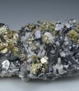 Chalcopyrite, Sphalerite, Quartz, Galena, Pyrite