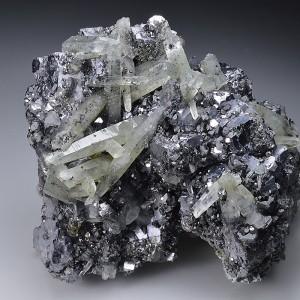 Galena, Quartz, Sphalerite, Chlorite