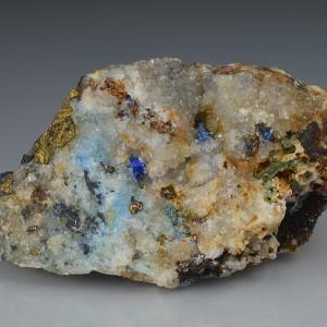 Linarite, Chalcopyrite