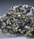 Pyrite, Chalcopyrite, Quartz, Sphalerite, Galena