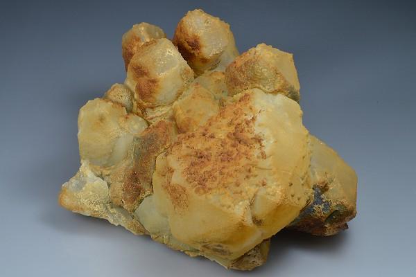 Quartz, Limonite, Calcite