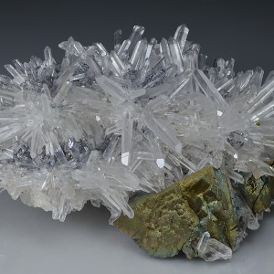 Quartz, Chalcopyrite, Galena