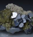 Galena, Chalcopyrite, Quartz