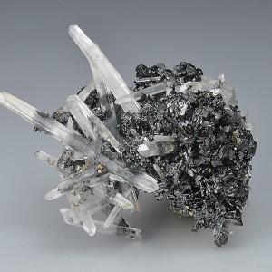 Bi-terminated Quartz, Sphalerite