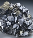 Truncated Galena, Quartz, Pyrite, Sphalerite