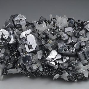 Galena, Quartz, Sphalerite, Pyrite, Chalcopyrite