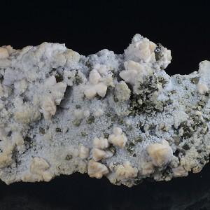 Mangano Calcite, Chalcopyrite, Quartz, Galena, Sphalerite