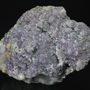 Quartz var.Amethyst, Chalcopyrite, Sphalerite, Galena