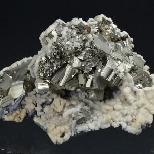 Pyrite, Calcite, Galena