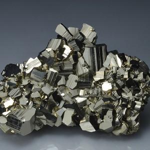 Pyrite, Sphalerite - floater