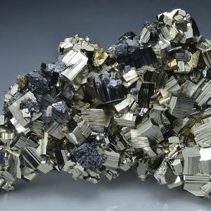 Pyrite, Sphalerite, Chalcopyrite, Galena