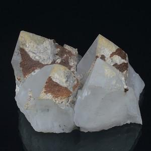 Quartz, Rhodochrosite, Calcite