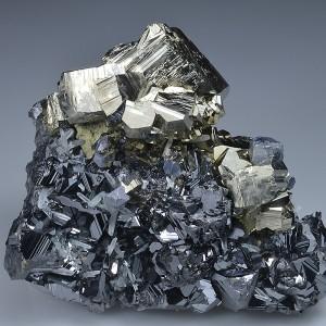 Pyrite, Sphalerite, Chalcopyrite, Galena, Quartz