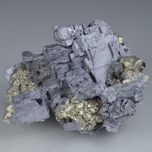 Skeletal Galena, Pyrite, Sphalerite